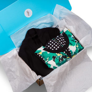 A open Styleyes Fashion Crate